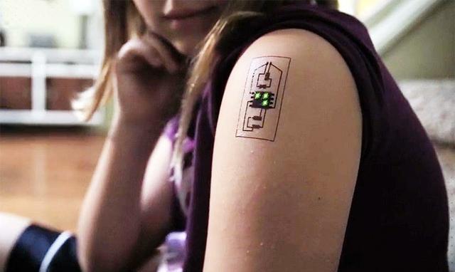 智能纹身    智能生活